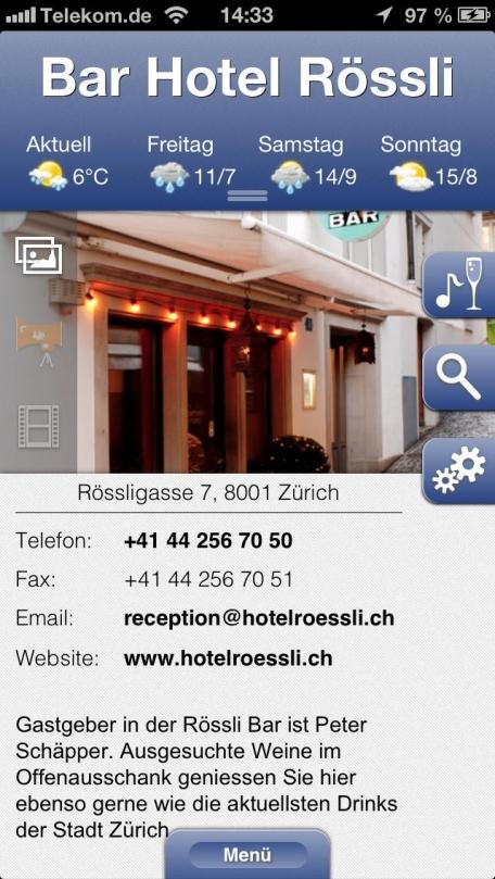 Bar Hotel Rössli