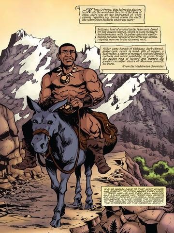 Barack Comics