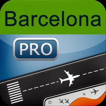 Barcelona El Prat Airport + Flight Tracker Premium