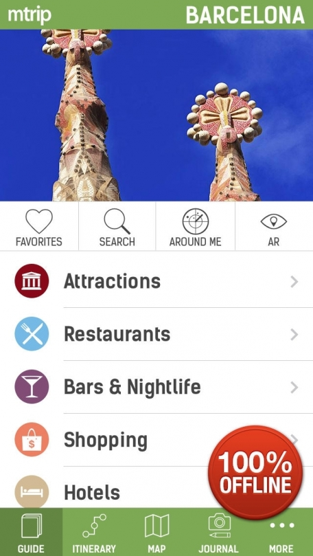 Barcelona Travel Guide (with Offline Maps) - mTrip Travel Guides