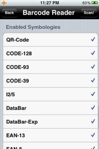 Barcode Reader/Writer