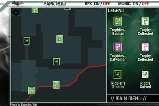 Batman Arkham City Official Map App