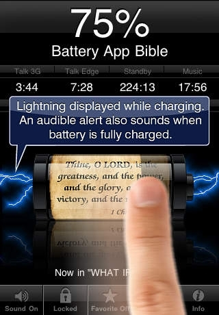 Battery App Bible ( with Photo Import & Inspiring Scripture Texts )