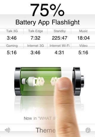 Battery App Flashlight