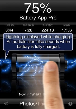 Battery App Pro with Themes & Photo Import