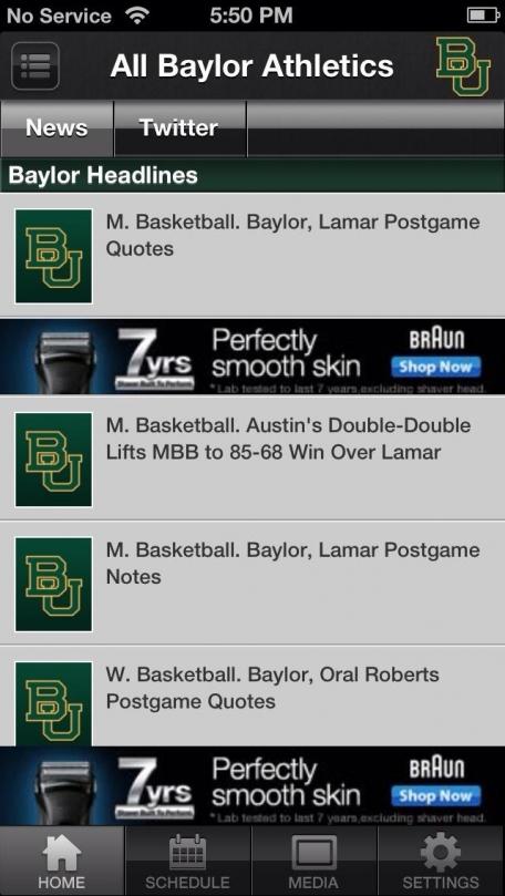 Baylor Bears Sports