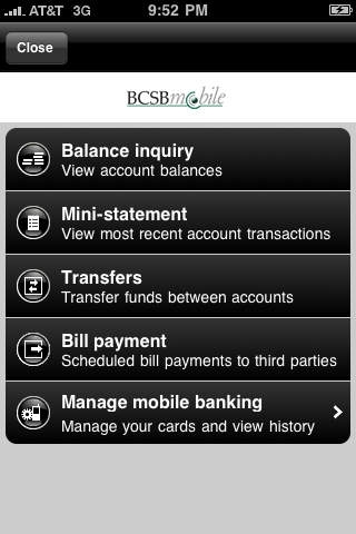 BCSB mobile