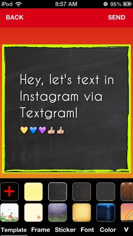 Textgram - Texting with Instagram