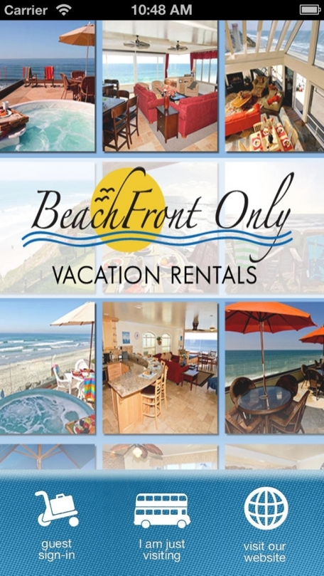 Beachfront Only Vacation Rentals
