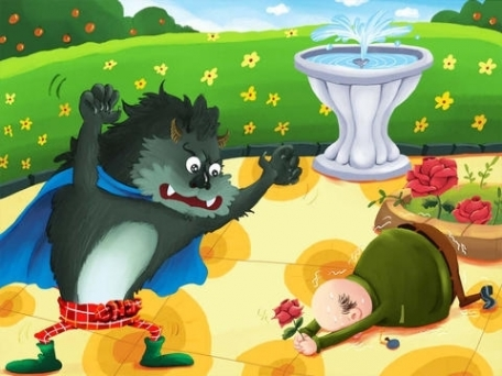 Beauty and the Beast - bedtime fairy tale Interactive Book iBigToy