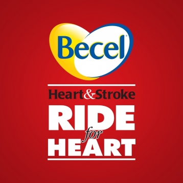 Becel Heart & Stroke Ride for Heart