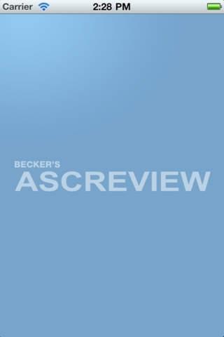Becker's ASC