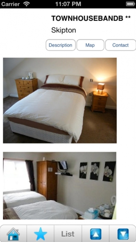 Bed and Breakfasts, B&B's and holiday rentals