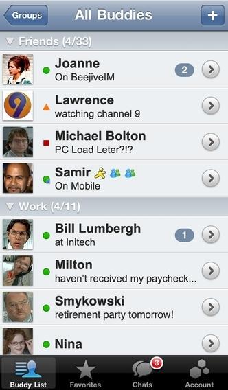 BeejiveIM for Yahoo! Messenger