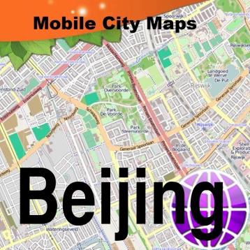 Beijing Street Map.