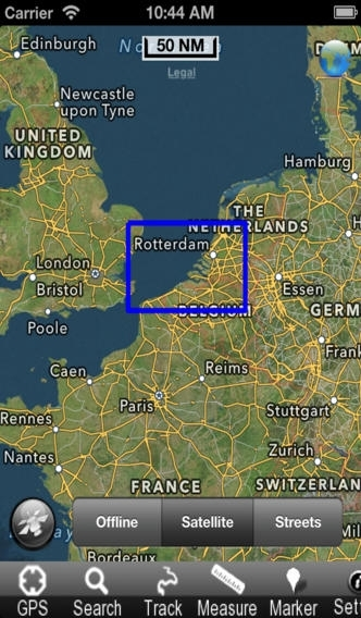 Belgium - Nautical Chart