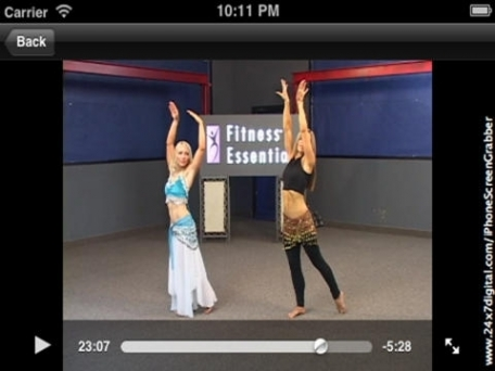 BellyDancing for Abs Workout App