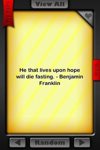 Ben Franklin Quotes!