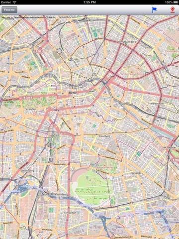 Berlin Street Map