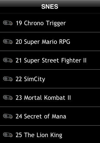 Best Selling SNES (Super Nintendo) Free