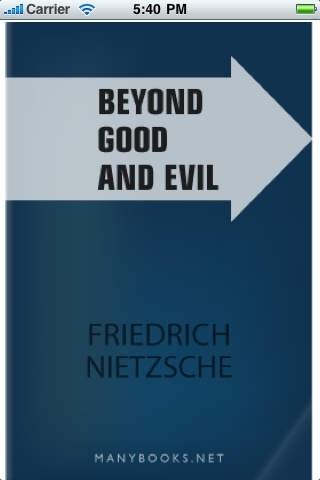 Beyond Good and Evil by Friedrich Wilhelm Nietzsche -iRead Series