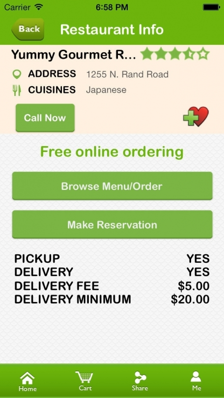 Beyond Menu Food Delivery