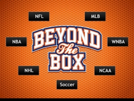 Beyond the Box: Real-time sports Instagram photos and Twitter news
