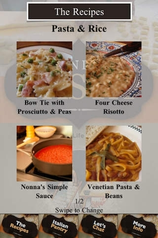 Beyond The Pasta
