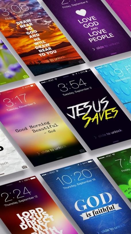 Bible Lock Screens™ - Bible Wallpapers / Backgrounds