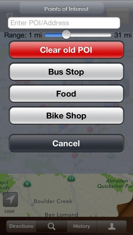 Bike On - Bicycle Routes, Maps with Voice Guided Navigation