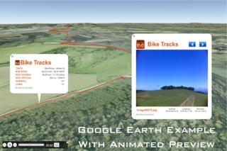 BIKE TRACKS - CYCLE COMPUTER FOR MOUNTAIN BIKING AND ROAD CYCLING