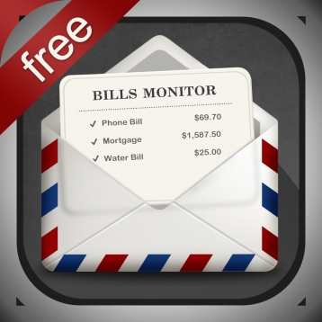 Bills Monitor Free – Bill Manager & Reminder