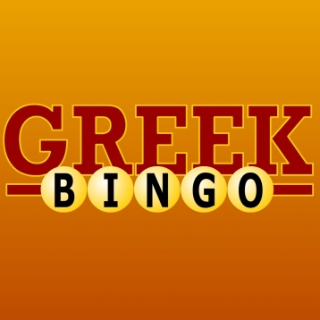 Bingo Greek Alphabet