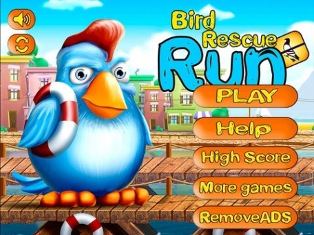 Bird Rescue Run : Mickey the Bird Edition