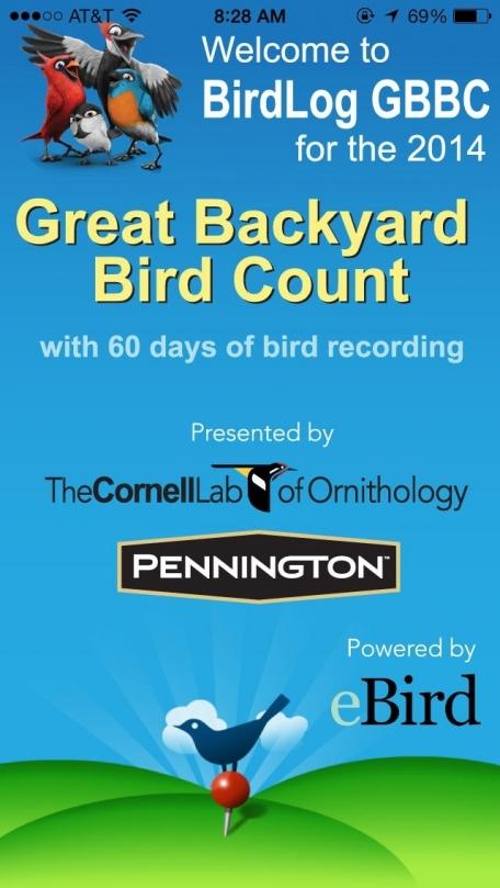 BirdLog Great Backyard Bird Count