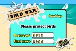 Bird's war
