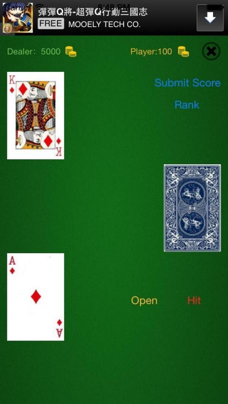 Social blackjack rules