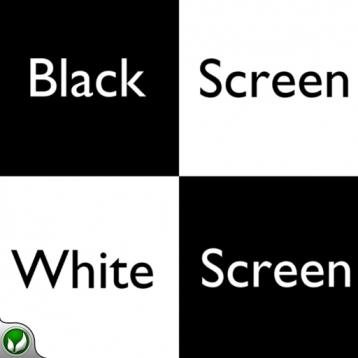 Black Screen White Screen - Mind Puzzle
