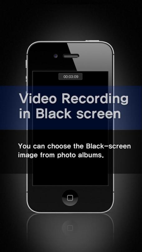 Black Video Recorder - Spy Video Recording in Black screen