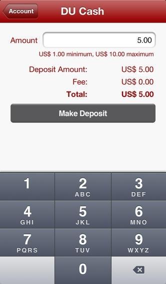 Blackboard Transact Mobile eAccounts