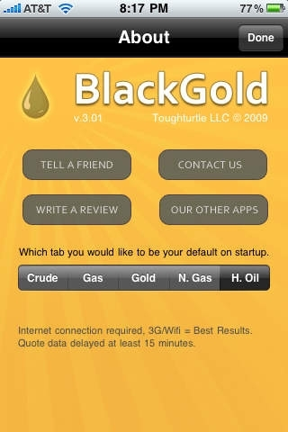 BlackGold - Oil, Gas, Gold, and Silver Tracking