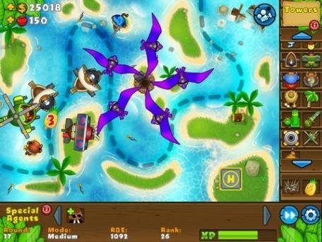 Bloons td 5 hd games app review ios 4 99 apptism com