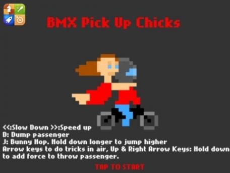 BMX pick up chicks