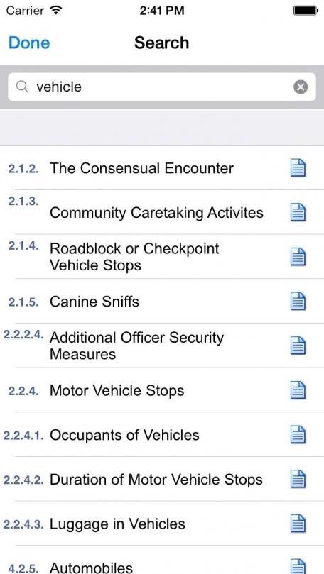 BNA Law Officer's Pocket Manual