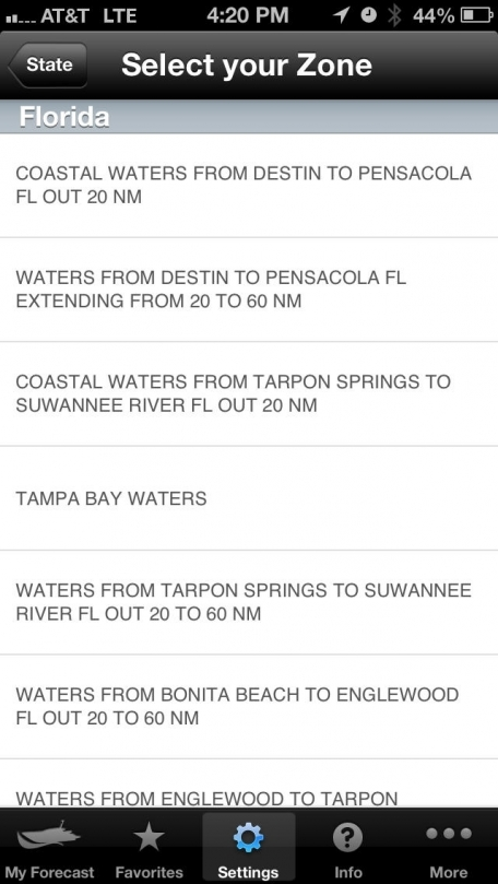 Boating Weather