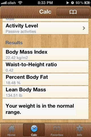 BodyFat Calorie Calculator FREE