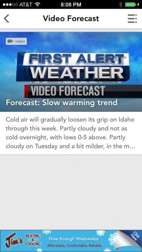 Boise, Idaho Weather from KTVB
