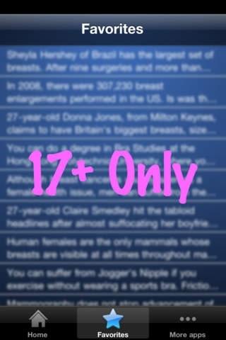 * Boob Facts *