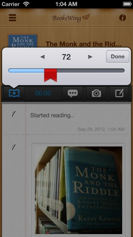 BooksWing Free - Reader's Journal / Diary