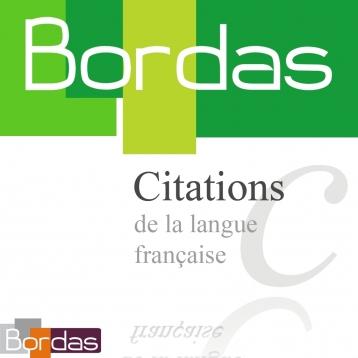 BORDAS 5000 Citations, le dictionnaire des citations de la langue française